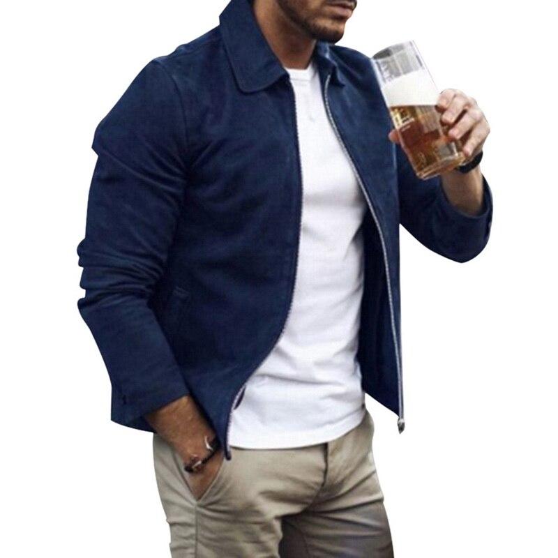 HTB1vWOVaAH0gK0jSZPiq6yvapXaN MJARTORIA 2019 New Fashion Men's Suede Leather Jacket Slim Fit Biker Motorcycle Jacket Coat Zipper Outwear Homme Streetwear