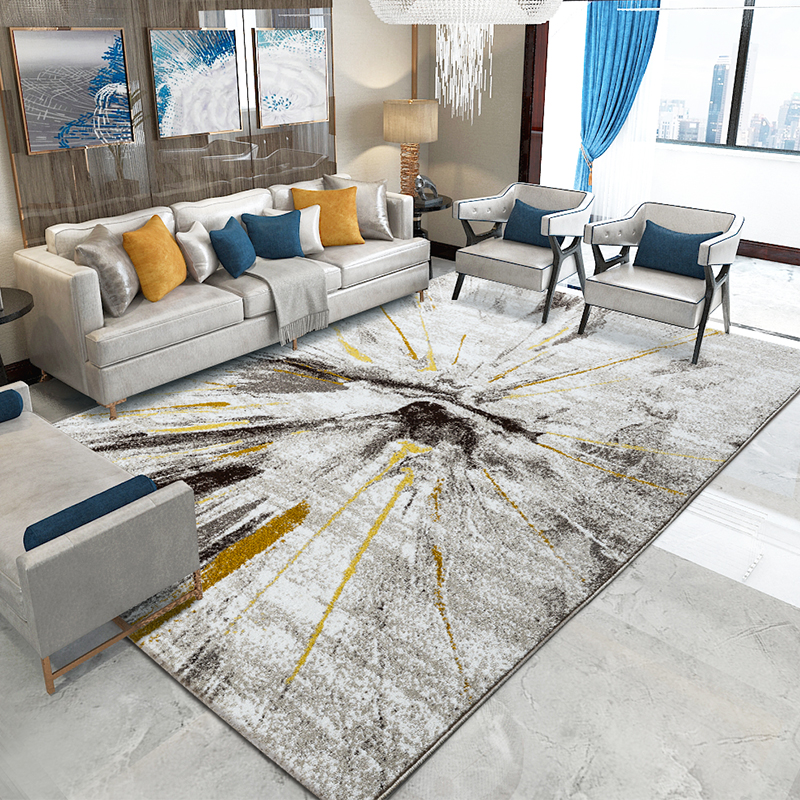 Modern Brief Carpets For Living Room Home Decor Carpet Bedroom Sofa Coffee Table Rug Wilton Polypropylene Floor Mat Study Rugs