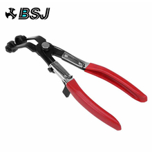 Hose Clamps Pliers Auto for Car Repair Removal Tool 45 Degree Bent Handle Clip Stainless Repairing