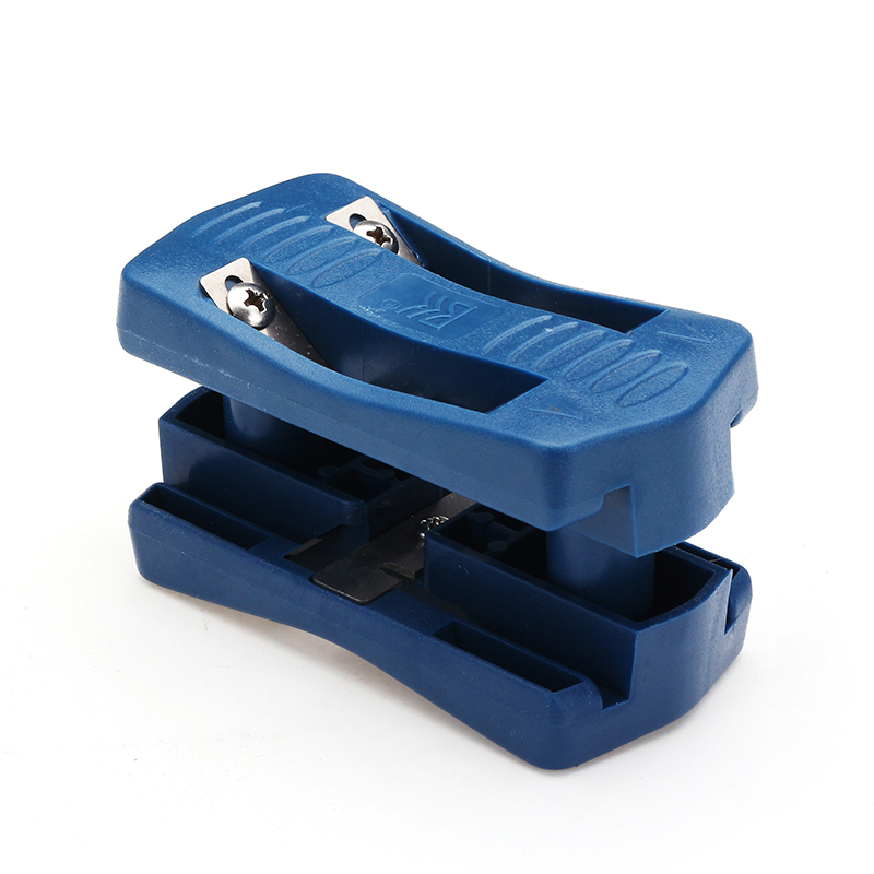 1pc Brand New Manual Edge Trimmer Blue Double Edge Trimming Tools Woodworking Edge Cutter
