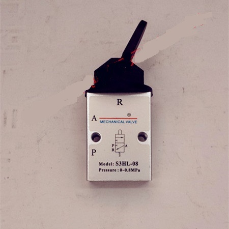 Supply AirTac genuine original mechanical valve S3HL-08. supply airtac genuine original mechanical valve s3hl m5