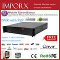 Alta qualidade venda quente IMP NVR 8064 K com 9HDD frete grátis