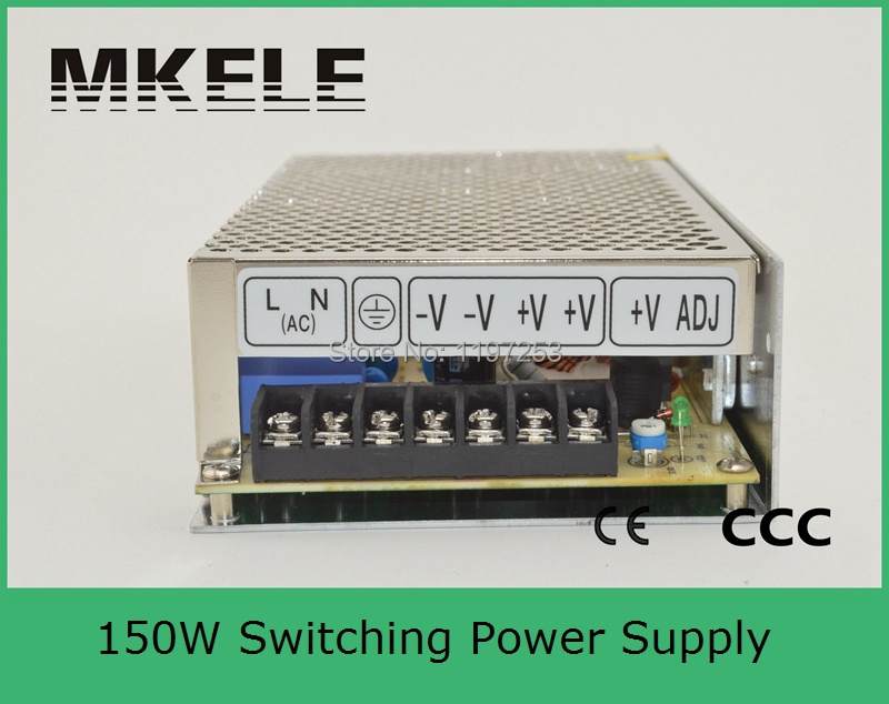 ФОТО custom made model single output 9v power supply 150w driver S-150-9 16.7A wtih CE letter direct sale