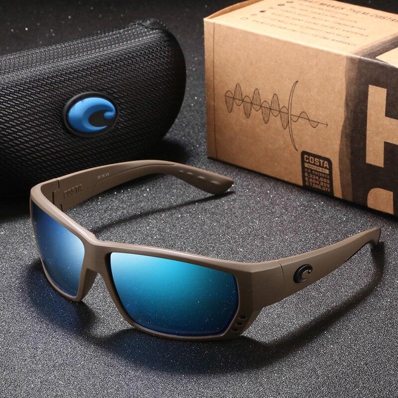 Brand Design New Square Sunglasses Men Fishing Eyeglasses Driving Male Vintage Polarized Sunglasses Oculos Shades UV400(China)