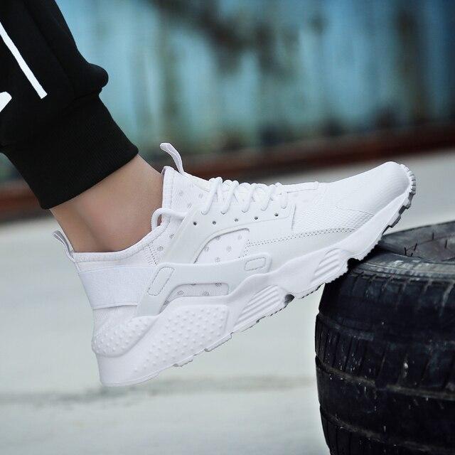 Унисекс кросовки уличная спортивная обувь дышащие спортивная обувь для мужчин и женские Сверхлегкая ходьба беговые кроссовки Большие размеры