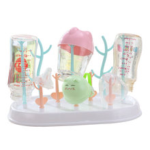 Baby Bottle Drying Rack Bottle Holder Baby Drying Baby Bottle Holder For Drying Rack For Babies Storage Dryer Cup Rack(China)