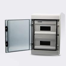 24 способ мини автоматический выключатель водонепроницаемый ip65 распределительная коробка корпус ABS и крышка ПК прозрачный светильник коробка HA-24way