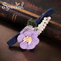 Special New Fashion Flower Hair Pins & Clips Romantic Hair Accessories Synthetic Pearl Hair Wear Jewelry Gifts for Women S1654H