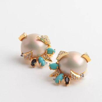Luxury Piercing Clip Earring