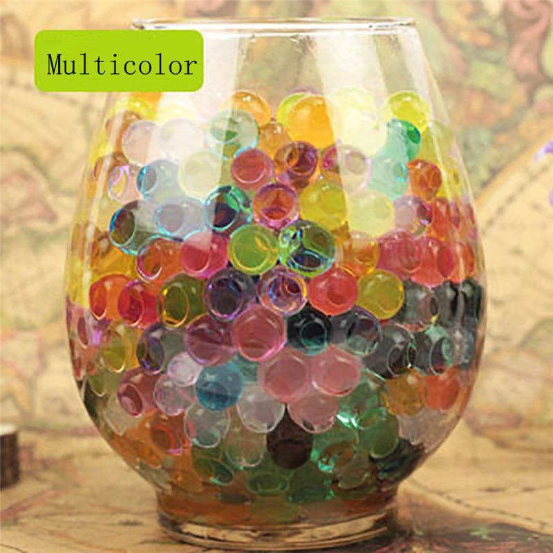 Hot Selling 7000 PCS Water Bullet Balls Water Beads Mud Grow Magic Jelly Balls Wonderful For Children Releasing Stress Drop Ship