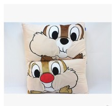Cute Chip n Dale chipmunk soft single pillowcase short plush cover (only case) gift
