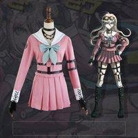 Amine Danganronpa V3 Iruma Miu Cosplay Costume Sailor Suit Halloween Christmas Carnival Rabbit Outfit
