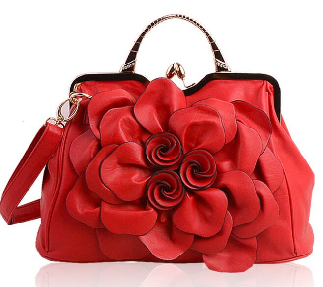 Летающие птицы, модные женские сумки, известные бренды, роскошные женские сумки через плечо, дамская сумка-тоут, Новое поступление, сумка LS4996fb - Цвет: red women tote