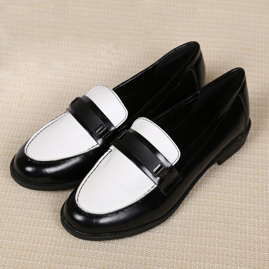 Aliexpress.com : Buy Fashion Casual slip on Leather shoes ...