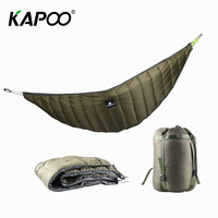 Newest Warm Cotton Hammock Winter Outdoor Camping Hunting Hammock Insulation Cover Windproof Leisure Hammock Accessories