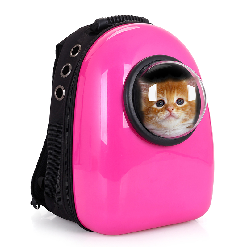 Fashion E Capsule Shaped Breathable Pet Cat Carrier Backpack Dog Outdoor Portable Package Bag Bags Travel In Carriers Strollers From Home