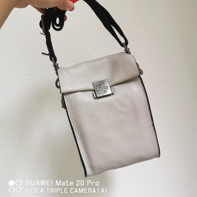 Sunbird 6 colores pequeños bolsos de mensajero para mujeres adolescentes niñas de cuero genuino de lujo diseñador bolsos de moda bolsos de hombro-in Cubos from Maletas y bolsas    3
