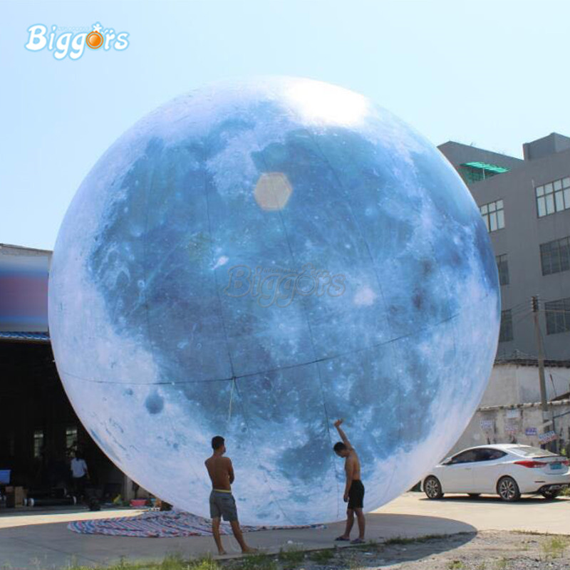 Led lighting Gaint inflatable earth globe balloon for advertising цена