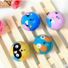 4Pcs Outdoor Fun Sports Toy Drift Ball For Baby Cute Carton Lovely Plastic Birthday Christmas Gift Do Not Eat Play