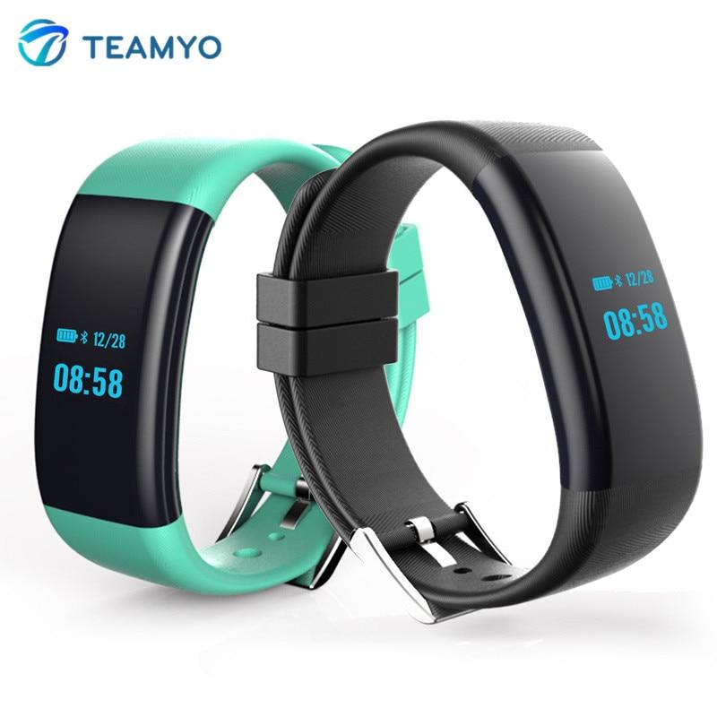 imágenes para DF30 impermeable Pulsera Inteligente Smartwatch Pulsera Aptitud Del Ritmo Cardíaco Del Monitor de La Presión Arterial de Oxígeno para IOS Android Smart Banda