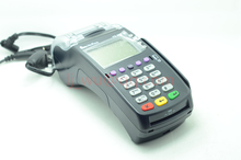 Used New VeriFone Vx520 LC, ABB DIAL/ETH, 128/32 MB, STD KEYPAD BLK