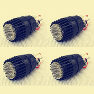 Image 1 - 4 PCS Wireed Microphone Capsule N 157 Microfone Fits for shure SM57 type mic Replace for the broken one