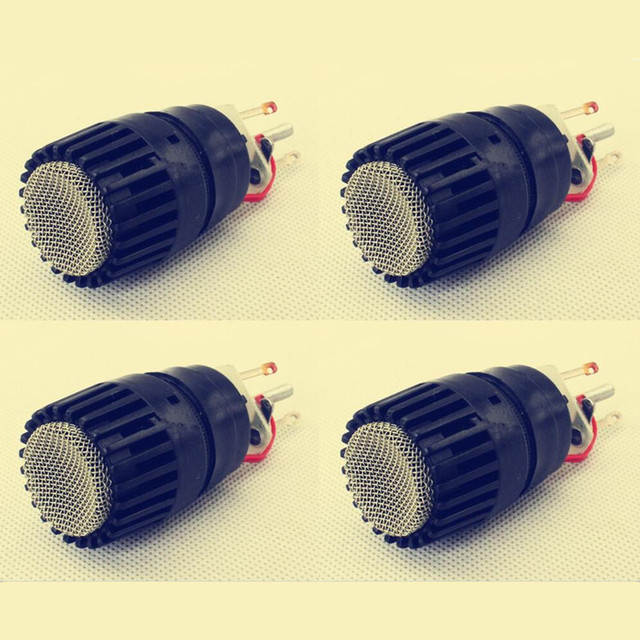 4 PCS Wireed Microphone Capsule N 157 Microfone Fits for shure SM57 type mic Replace for the broken one