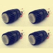 4 adet Wireed mikrofon kapsül N 157 mikrofon uyar shure SM57 tipi mic değiştirin için kırık bir