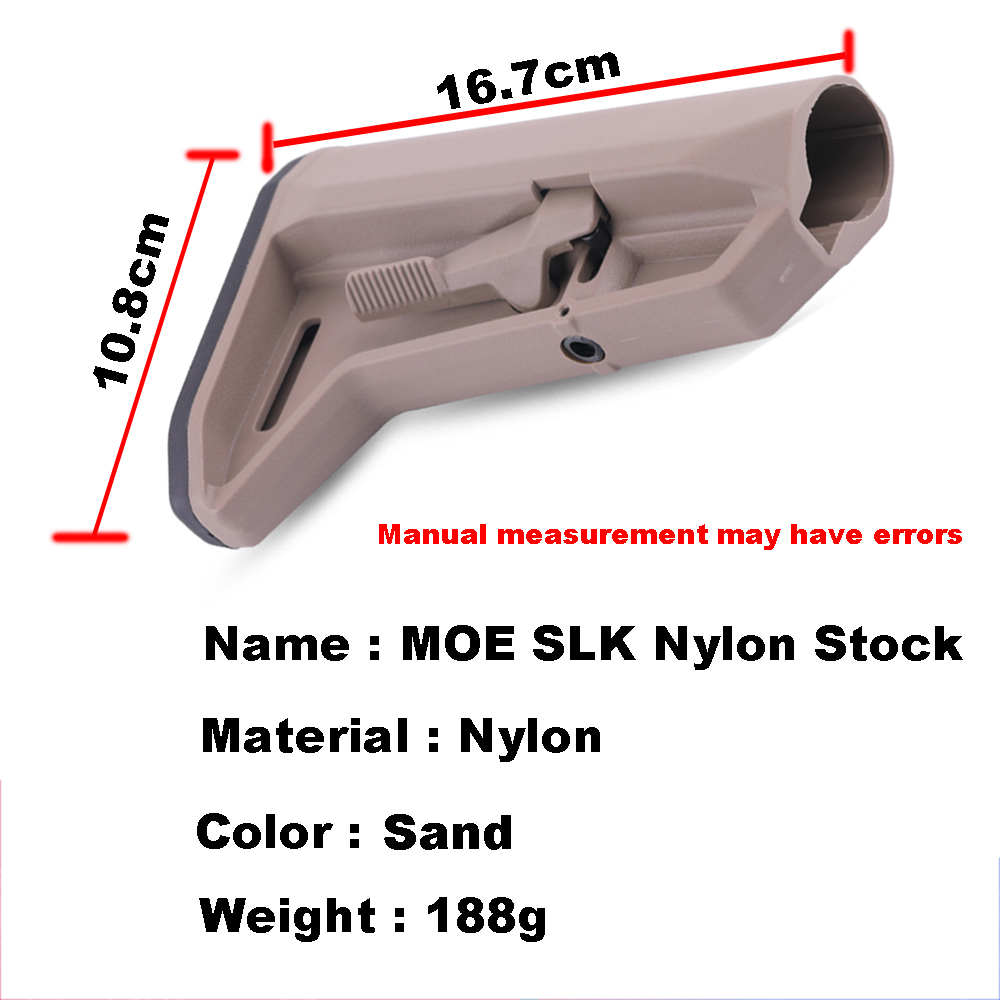 medium resolution of moe sl k nylon paintball camping component adjustable stock for airsoft aeg new jinming8 gen9 ar15 m4 mini accessories in paintball accessories from sports