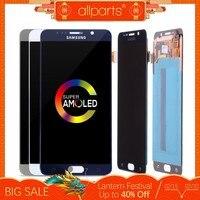 5.7'' AMOLED ORIGINAL LCD for SAMSUNG Galaxy Note 5 Display LCD Touch Screen for SAMSUNG Note 5 Note5 N920A N9200 SM N920 N920C