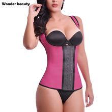 Latex Waiste Trainer Waist Cincher Faja Postpartum Corset Vest Plus Size Womens Workout Trainers