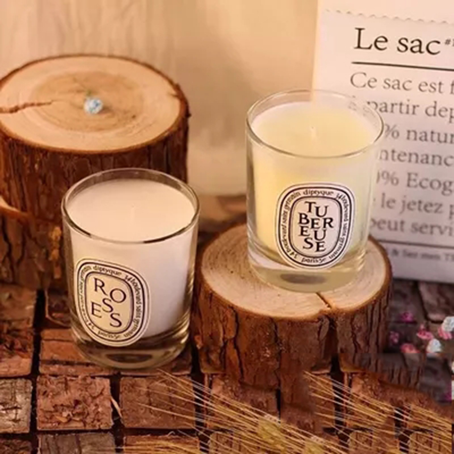 Decorative Scented Candles White Candle In Glass Tea Light Candles Soy Candle Jars Velas Cumplea Os Infantil Velas 35G 40KO066