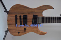 High quality firehawk customized 7 string electric guitar with walnut neck fixed bridge can be customized as required