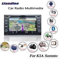 Liandlee для KIA Sorento 2003 ~ 2006 Android автомобильный Радио CD dvd плеер gps навигатор карты камера OBD tv HD экран мультимедиа