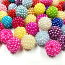 50PCS 14MM High Quality ABS Loose Beads Mix Color Jewelry DIY Accessories