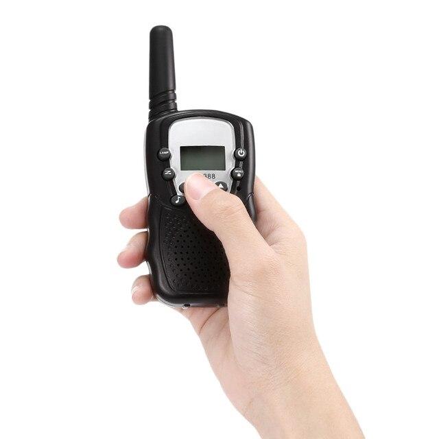 MBOSS Channels Children Walkie Talkies 2 way Radio Baby Monitor Dry Battery Long Range 8 4 X 1.5V Wireless AUDIO Intercom 2.4ghz