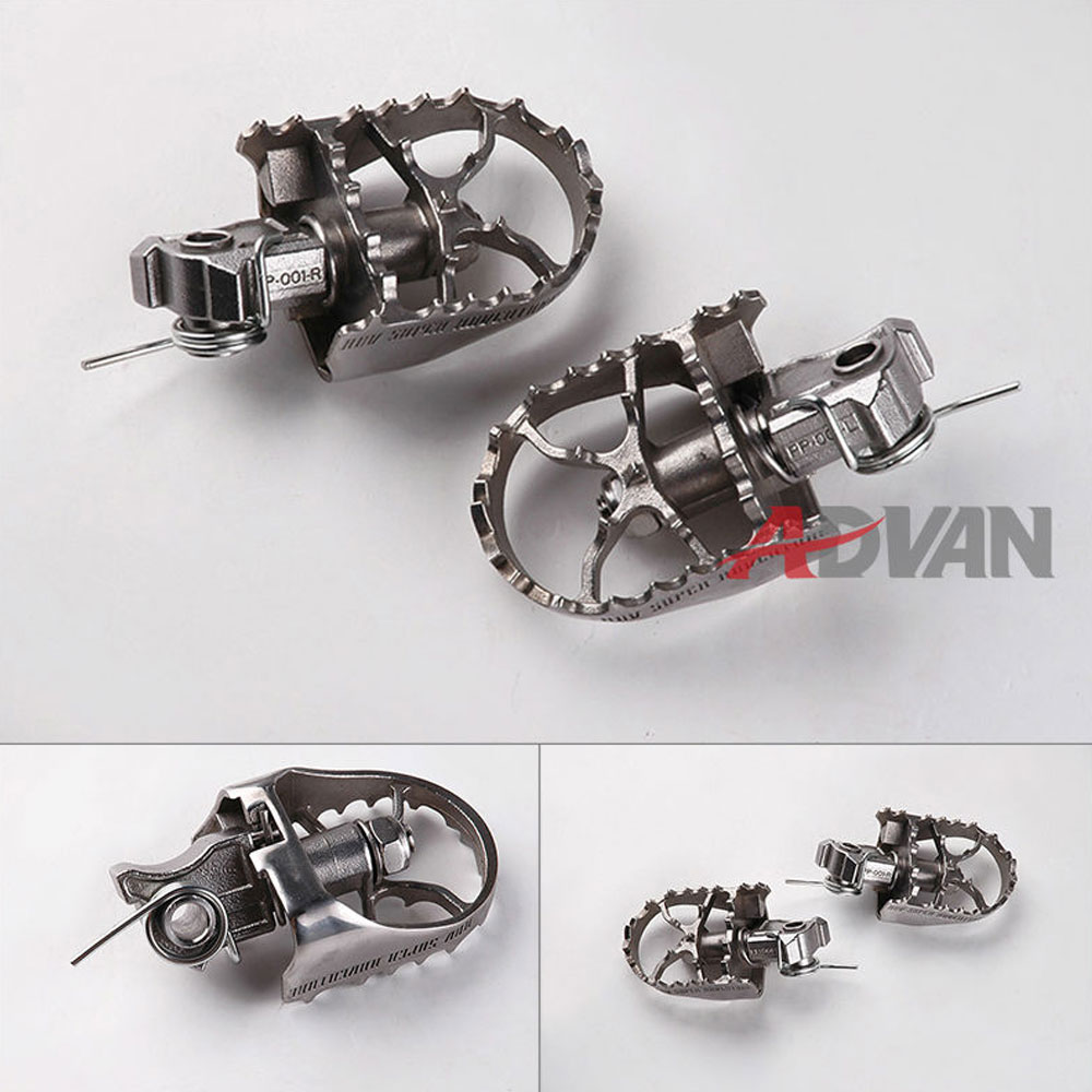 цены fit FOR KTM 625 640 LC4/ADV, 690 ENDURO, 950 990 ADV/SM FREE SHIPPING 60MM PIVOT PEG FOOT PEGS
