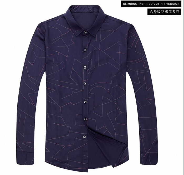 YSMILE Y #210 BAYER High grade shirts, 2017 autumn suits, new mens shirts, long sleeve business mens shirts, mercerized cotton