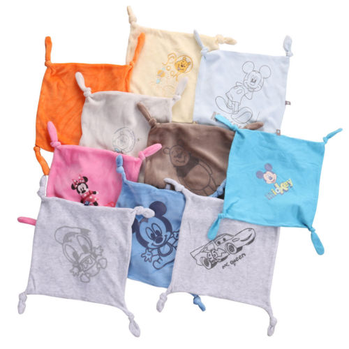 HOT sale Square Baby boys girls Comforter Hand Towel Face Towels Kids Gifts Baby Comfort Blanket