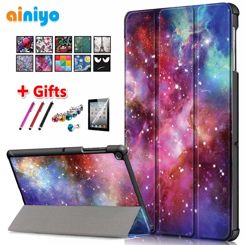 Capa protetora para samsung galaxy tab s5e tablet para galaxy tab s5e 10.5 SM-T720 SM-T725 t720 t725 capa + filme presentes