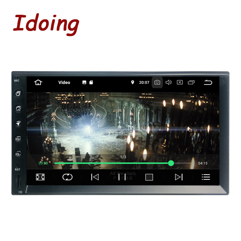 "Idoing 2Din 7""PX5 4G+32G Octa Core Universal Car GPS Radio Player Android 9.0 IPS screen Navigation Multimedia Bluetooth TDA7850-in Car Multimedia Player from Automobiles & Motorcycles    2"