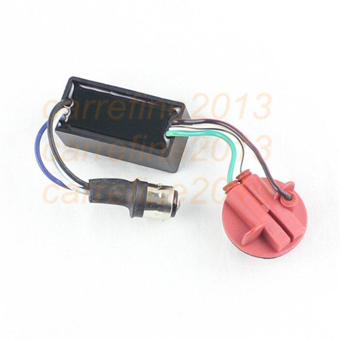 Rockeybright 1157 BAY15d P21/5W 1034 1130 LED Warning Canceller Decoder 1157 Turn Signal Light Error Free Load Resistor 1157