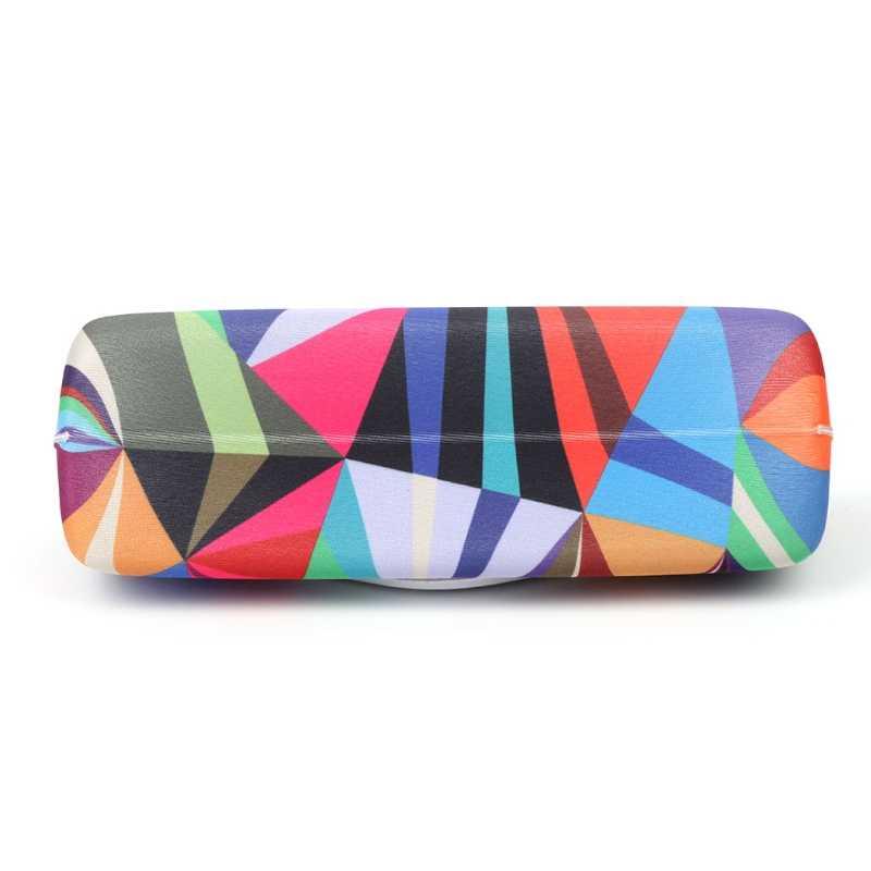 ファッションメガネボックスサングラスケースカラフルな収納プロテクターユニセックス容器ドロップ無料 #