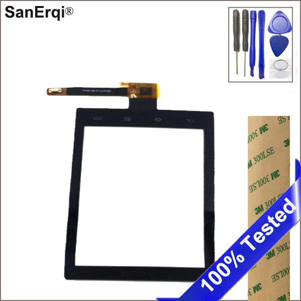 SanErqi For Philips W626 Touch Screen For Xenium W626 Touch Panel Sensor Replacement With Free Tools Sticker