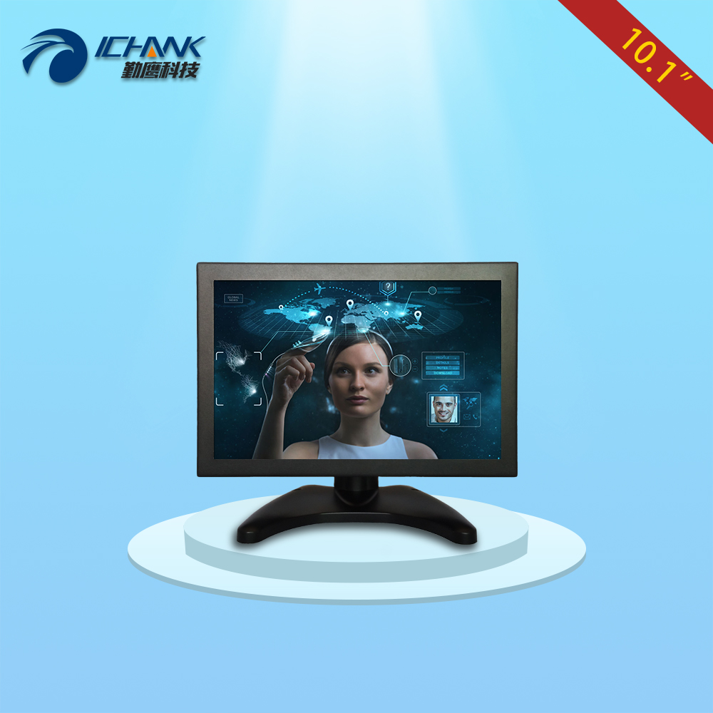 B101TC-V59/10.1 inch 1280x800 IPS full view HDMI VGA HD metal case industrial Anti-interference touch monitor LCD screen display