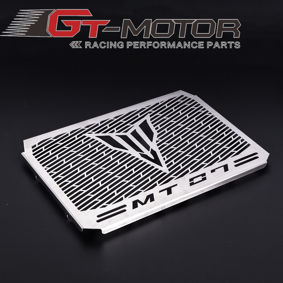 GT Motor - Motorcycle Radiator Grille Guard Cover Protector For YAMAHA MT07 MT-07 MT 07 2014 2015 2016 2017 arashi motorcycle radiator grille protective cover grill guard protector for 2008 2009 2010 2011 honda cbr1000rr cbr 1000 rr