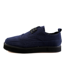 016 Fashion Solid Men's Shoes Flat-With Lace-Up Trend Men Shoes Comfortabe Casual Footweat YS1608058
