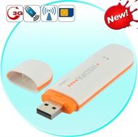 Desbloqueado Modem Sem Fio 3G WCDMA GSM WIFI 7.2 Mbps HSDPA USB Dongle Vara Rede