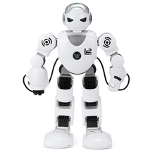 New Intelligent RC Robot Funny Game Toys 2.4G Dancing Battle Robot Model Toy Multi-function Remote Control Robots Kit Gift