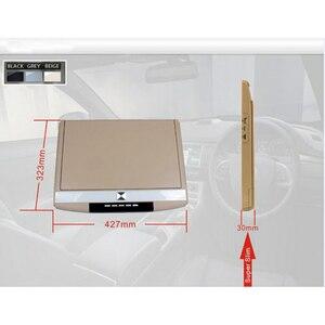 Image 4 - 15.6 Inch Trần Màn Hình FHD 1080P Lật Xuống Núi Màn Hình Màn Hình LED MP5 Người Chơi Có HỒNG NGOẠI/Bộ Phát FM /USB/SD/HDMI/Loa